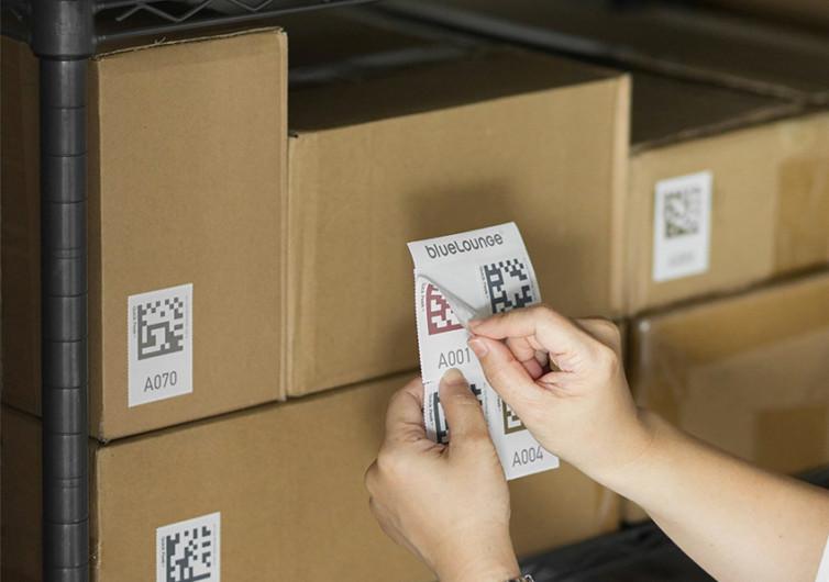 Bluelounge Quick Peek Labels