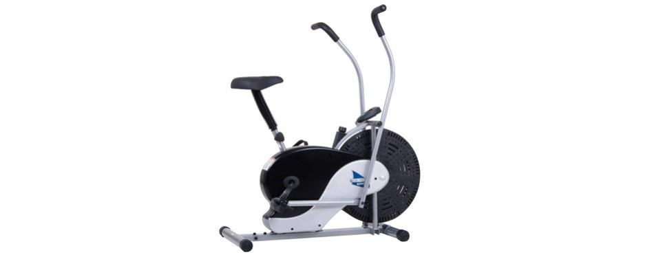 body rider exercise upright fan bike