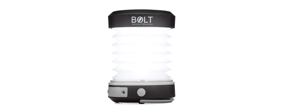 bolt lite solar rechargeable led lantern