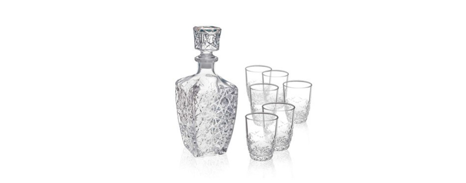 bormioli rocco dedalo whiskey gift set