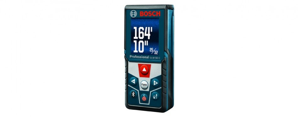 bosch bluetooth enabled distance laser measure