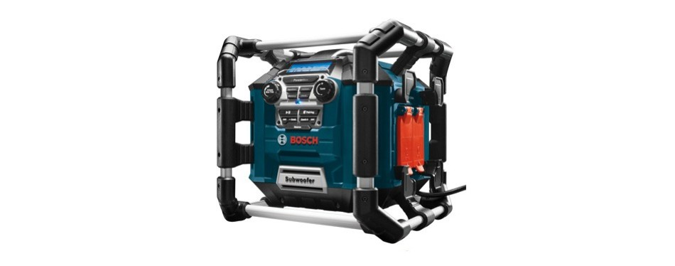 bosch bluetooth power box jobsite radio