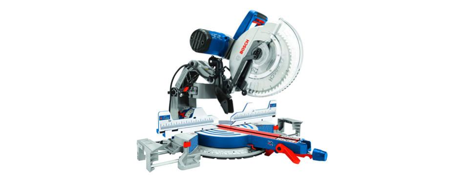 bosch power tools gcm12sd sliding glide miter saw