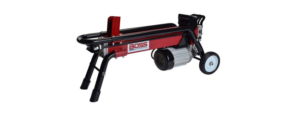 boss industrial 7-ton electric log splitter