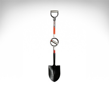 Bosse Round Point D-Handle Shovel