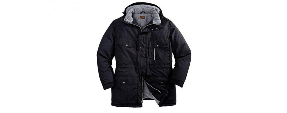 boulder creek men's big & tall expedition winter jacket
