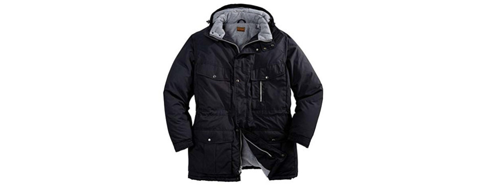 boulder creek men's big & tall expedition winter jacket