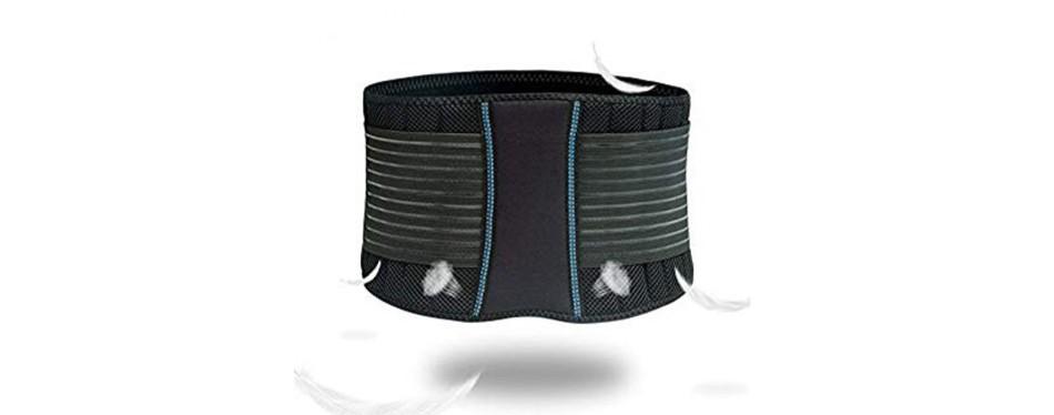 braceup stabilizing lumbar lower back brace