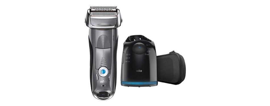 braun electric shaver