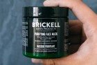 brickell men's purifying charcoal face mask