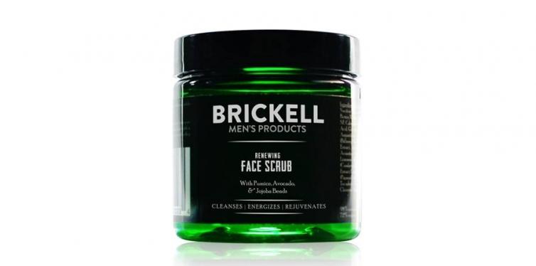 Brickell Men's Renewing Exfoliating Facial Scrub