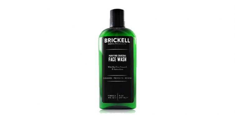 Brickell Men's Purifying Charcoal Facewash