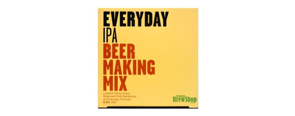 brooklyn brew shop everyday ipa beer making mix