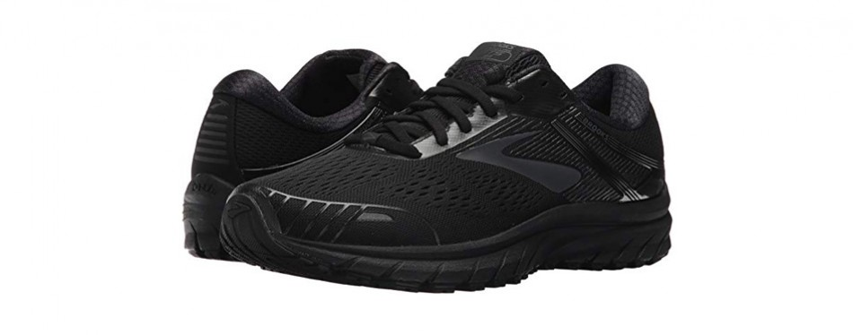brooks men's adrenaline gts 18 black