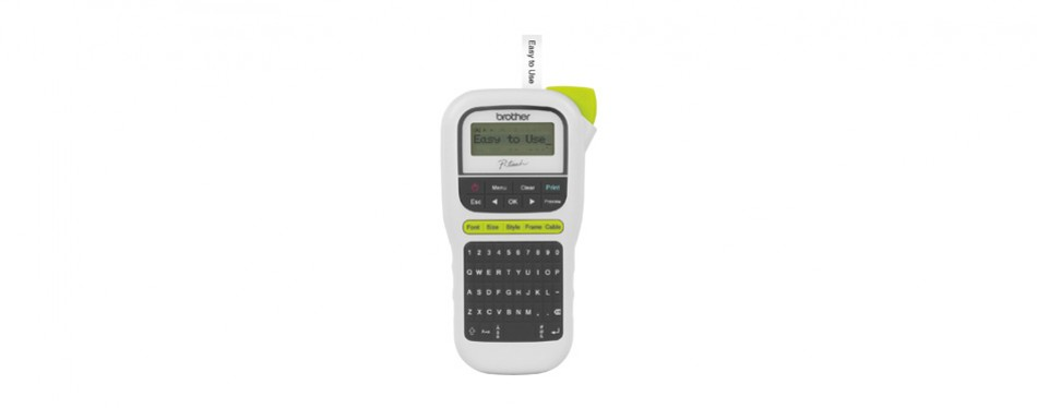 brother p-touch, pth110, easy portable label maker,