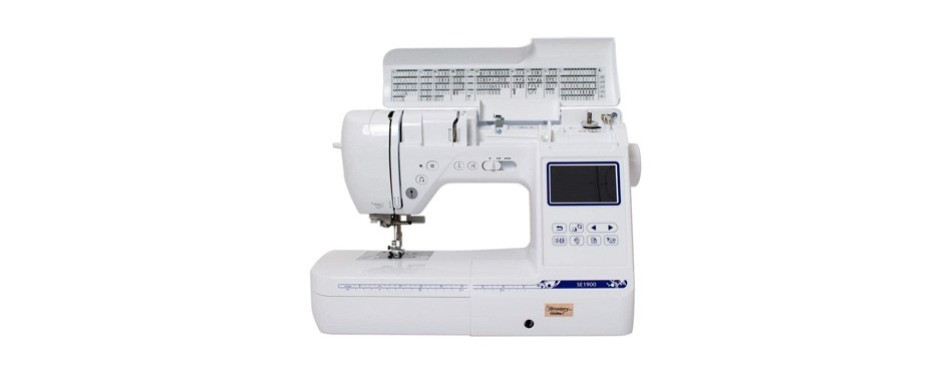 brother se1900 combination sewing and embroidery machine