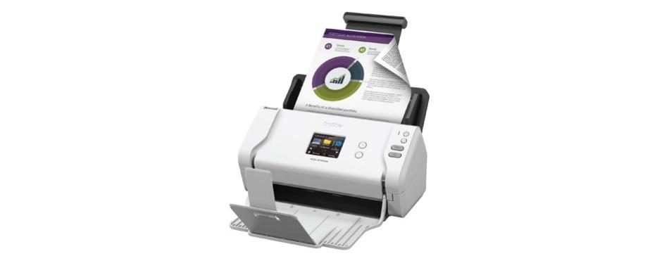 brother wireless high speed desktop document scanner