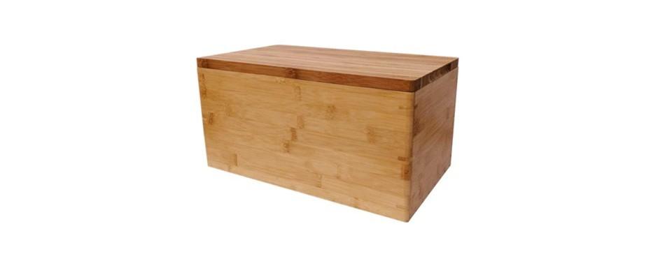 brown moo bread box set