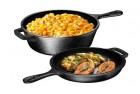 bruntmor ultimate pre-seasoned 2-in-1 cast iron multi-cooker