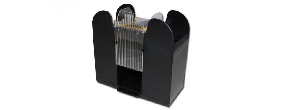brybelly 6-deck automatic card shuffler