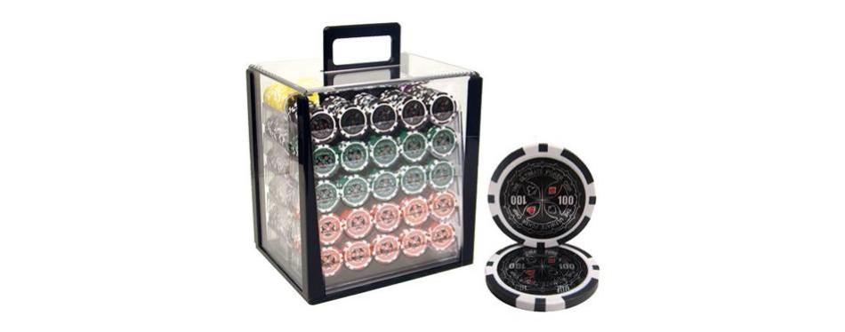brybelly ultimate poker chips set
