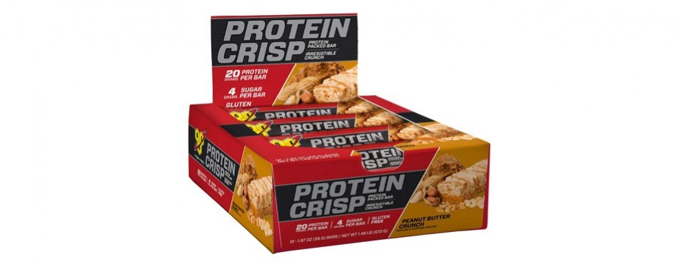 bsn protein crisp bar by syntha-6