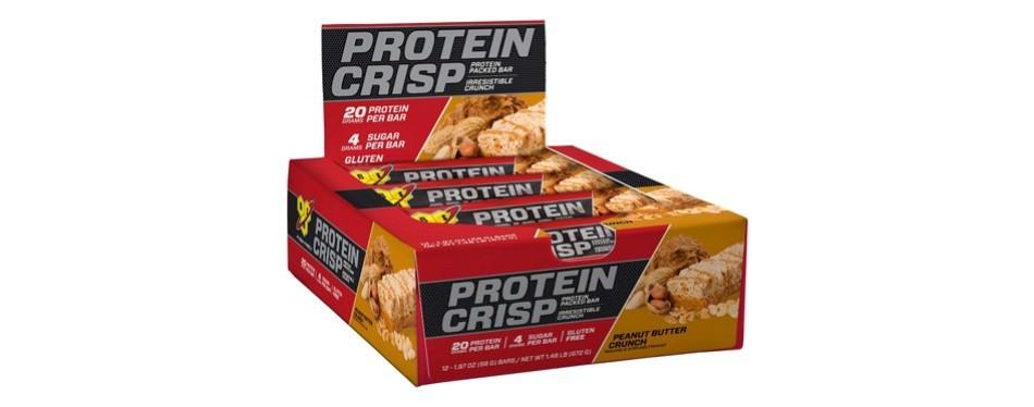 bsn protein crisp bar by syntha-6