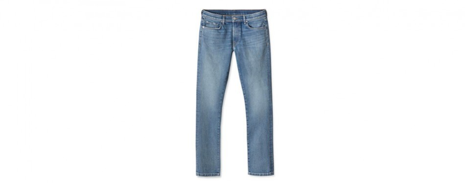 buck mason 36-month wash slim american made jeans