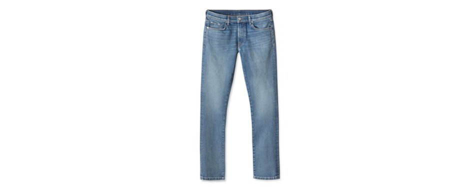 buck mason 36-month wash slim american made jeans