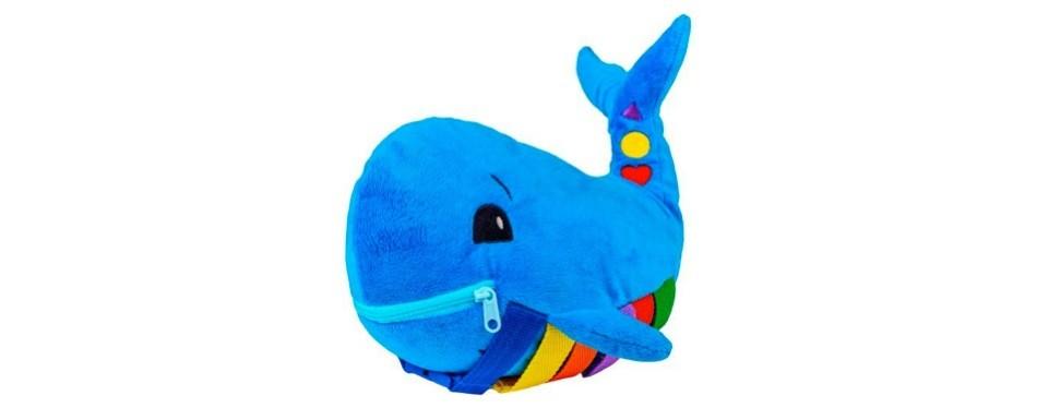 buckle blu plush whale
