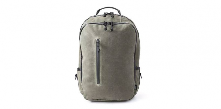 Defy Bucktown Waxed Canvas Backpack