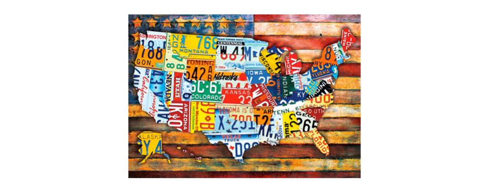 buffalo games – road trip usa – 300 piece jigsaw puzzle