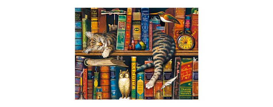 buffalo games – the cats of charles wysocki– 750 piece jigsaw puzzle