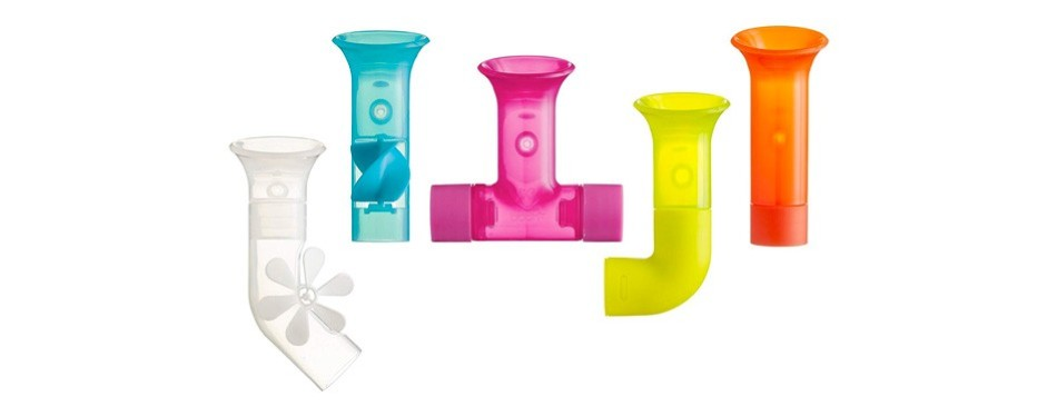 building bath pipes toy set
