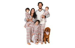 burt's bees family jammies matching christmas pajamas