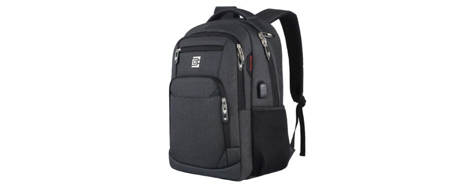 business travel anti-theft slim durable laptops backpack