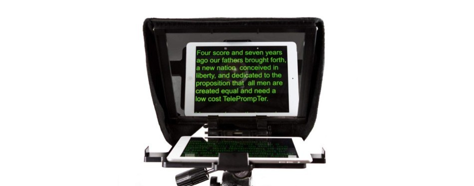 caddie buddy portable teleprompter