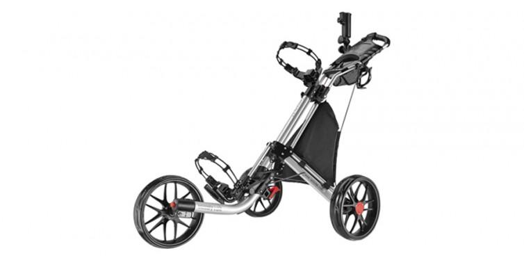 CaddyTek EZ-Fold 3-Wheel Golf Push Cart
