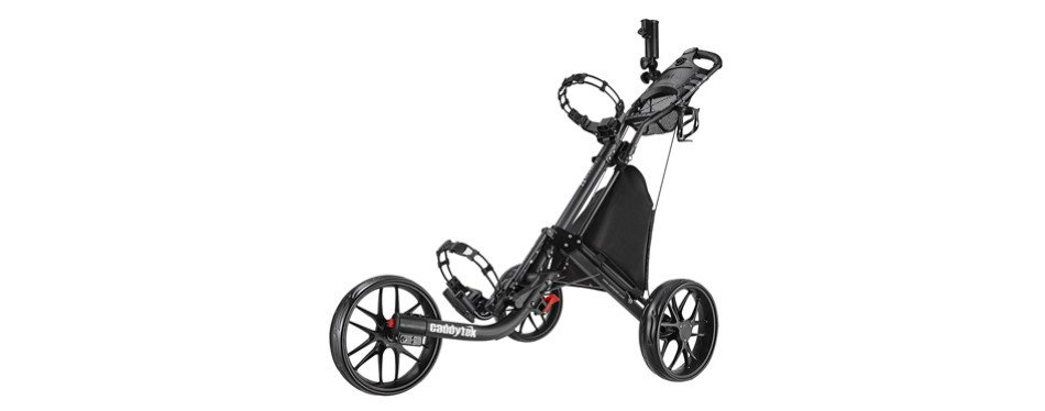 caddytek ez-fold 3 wheel golf push cart