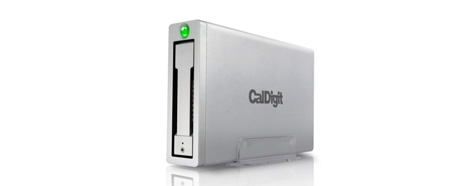 caldigit av pro 2 storage hub external drive