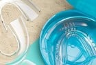 cali white vegan teeth whitening kit, zero peroxide with organic botanical gel