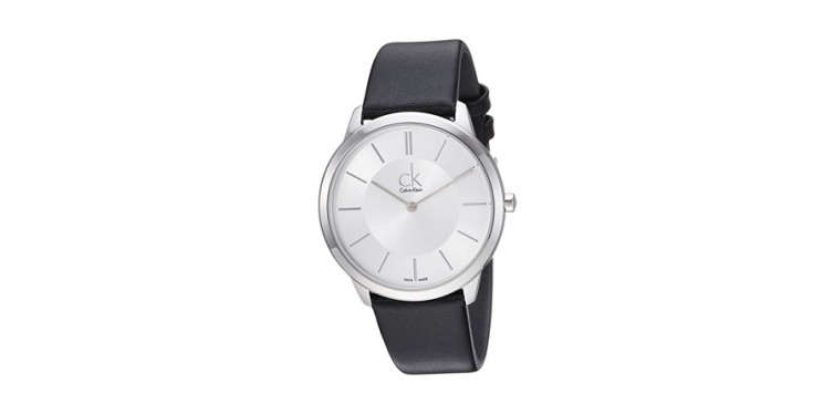 calvin klein men's minimal watch