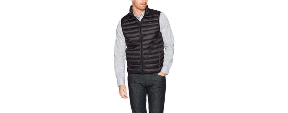 calvin klein men's packable vest
