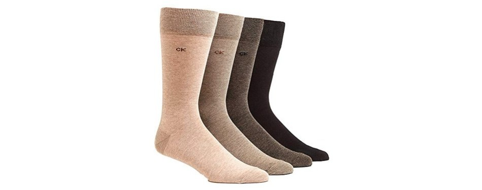 calvin klein men's classic dress socks