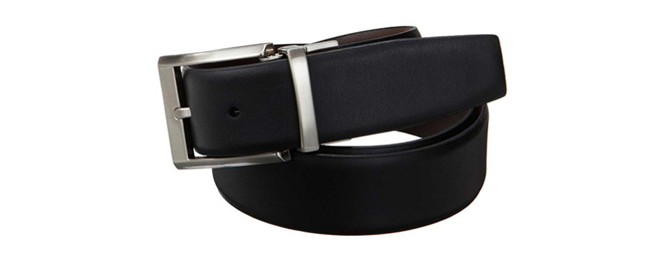 calvin klein smooth reversible leather belt