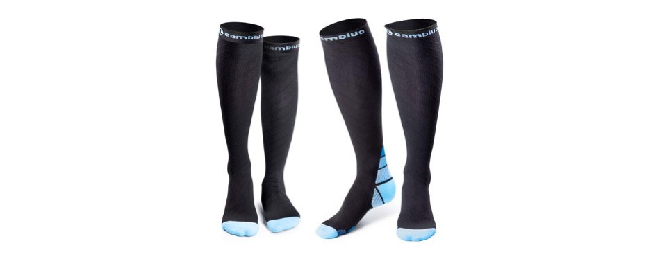 cambivo 2 pairs of compression socks