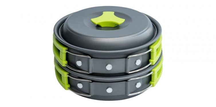 MalloMe Camping Cookware Mess Kit