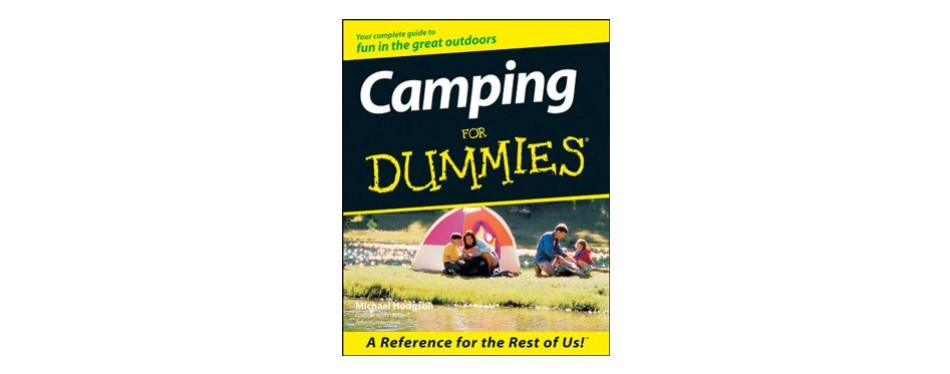 camping for dummies, michael hodgson