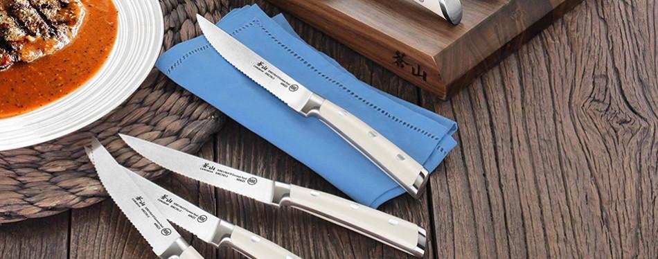 cangshan s1 series 8-piece steak knife set