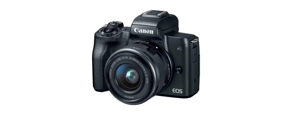 canon eos m50 mirrorless camera kit